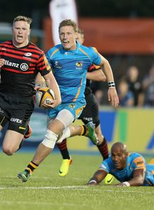 Chris Ashton in Sevens action for Saracens