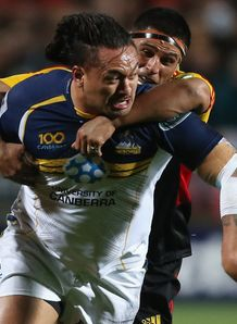 Fotu Auelua Brumbies v Chiefs SR Final 2013