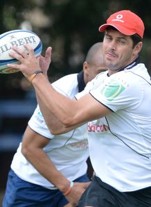 Morne Steyn Bulls training 2013