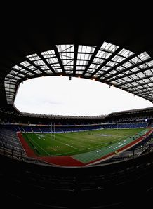 Murrayfield stadium view 2009