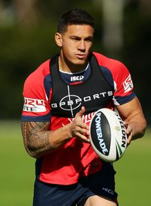 Sonny Bill Williams Roosters training 2013
