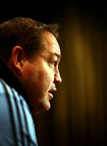 Steve Hansen side on