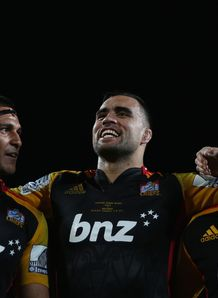 Tanerau Latimer Liam Messam and Aaron Cruden