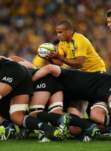 Will Genia Wallabies ABs scrum RC 2013