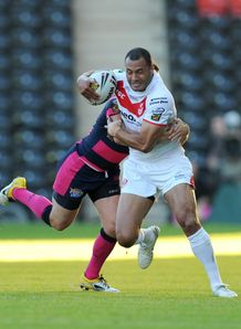 Super League: Kieron Cunningham was happy with an 'ugly' St Helens win