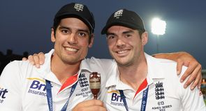 Cook and Anderson make shortlist
