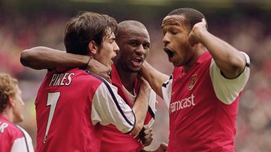 Pires backs Vieira for Arsenal job