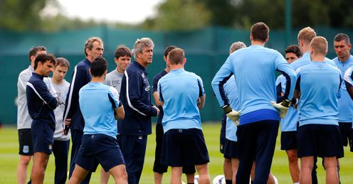Manuel Pellegrini: City crowd round but will they open up at Cardiff?