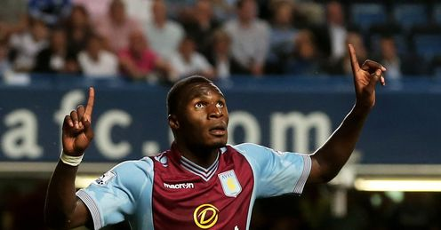 Benteke: Has three goals in two Premier League games this season