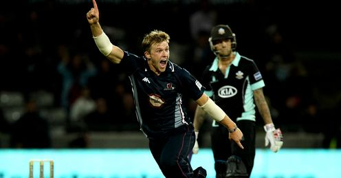 David Willey: Hat-trick, and half century, hero