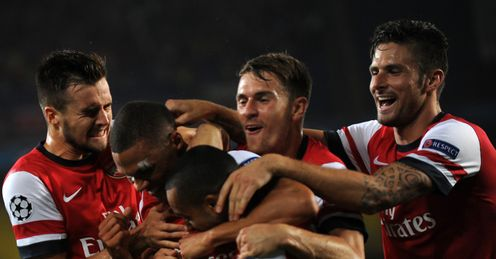 Arsenal: a night of celebration in Turkey