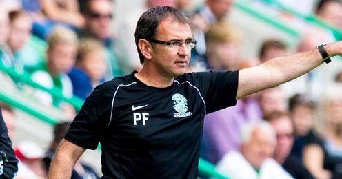 Under pressure: Pat Fenlon