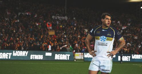 George Smith Brumbies v Chiefs SR Final 2013