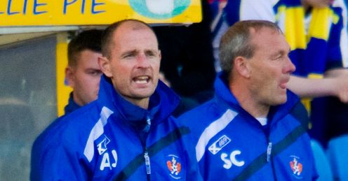 Allan Johnston: faces a stern test in preparing Kilmarnock