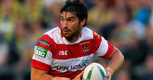 Matty Smith Wigan Warriors