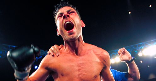 Darren Barker: celebrates his dream coming true