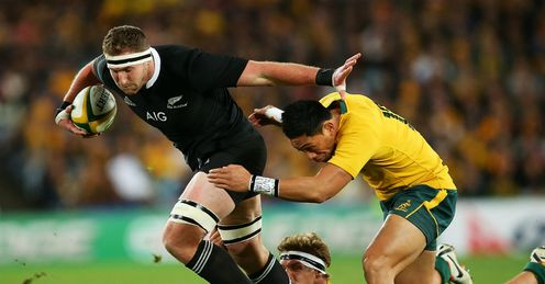 Power: Australia couldn't get to grips with New Zealand