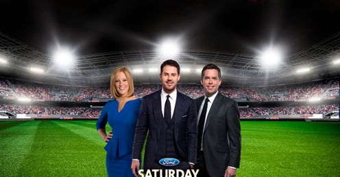 Saturday Night Football: David, Jamie and Sarah-Jane