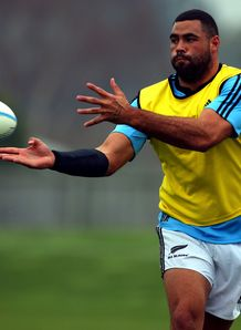 Ben Afeaki All Blacks training 2013