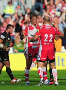 Billy Twelvetrees after win for Gloucester