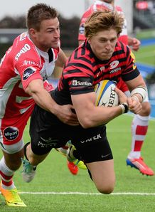 David Strettle Try v Gloucester