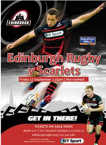 Edinburgh v Scarlets competition