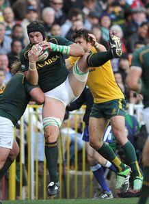 Flip van der Merwe for Springboks