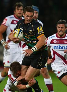 George North Northampton Premiership v Sale Sharks