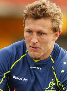 Lachie Turner Wallabies training 2012