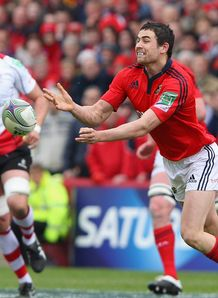 Munster back Felix Jones