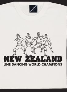 NZ line dance t shirt