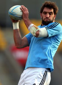 Sam Whitelock NZ training 2013