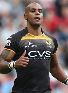 Tom Varndell in new Wasps jersey