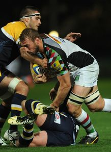 Aviva Premiersip: Harlequins boss Conor O'Shea lauds Chris Robshaw