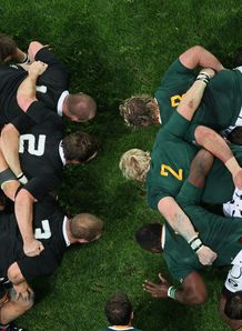 New  ZEALAND SOUTH AFRICA Scrum