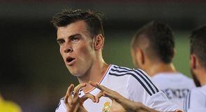 Gareth Bale's first Real Madrid goal