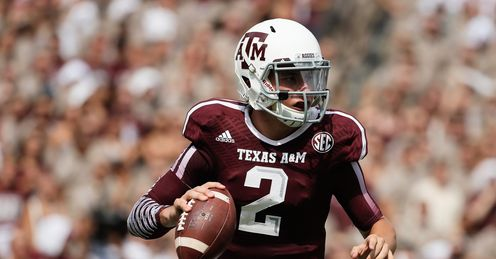 Texas A&M quarterback Johnny Manziel is a controversial figure, says Alex