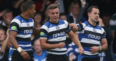 Anthony Watson George Ford Micky Young Bath
