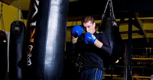 Burns: Has been training hard for showdown with Beltran