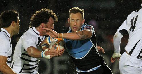 Byron McGuigan Glasgow v Zbre pro12
