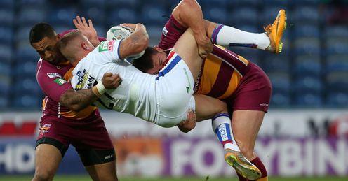 Huddersfield Wakefield action