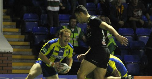 Joel Monaghan Warrington try 2013