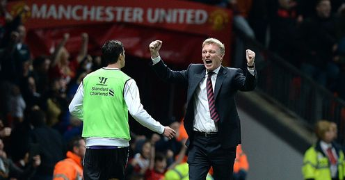 David Moyes: Has eased the pressure with a win against Liverpool