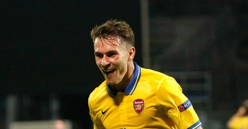 Aaron Ramsey: Six goals in seven games