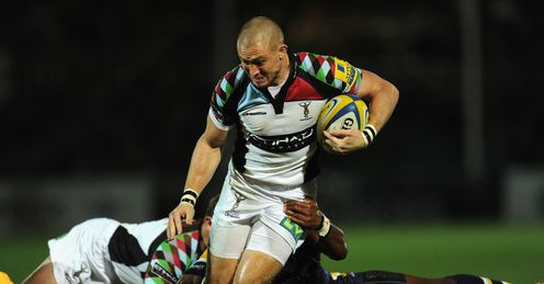 Mike Brown Harlequins Worcester 2013