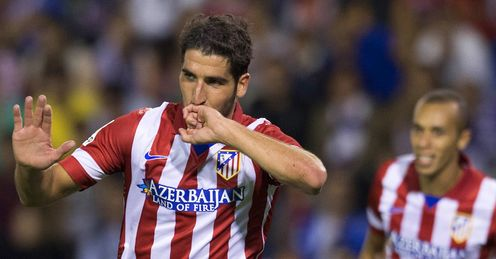 "Raul Garcia: ""nothing special"", but starring under Simeone"