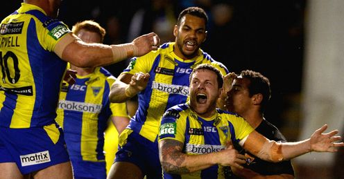 Warrington overcame Huddersfield to reach the final