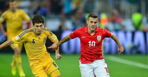 Talent: young England prospects, such as Jack Wilshere, need a chance to shine, says Kevin