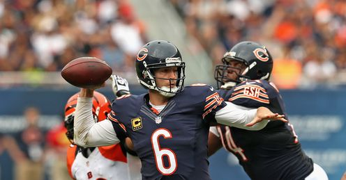 Jay Cutler is into his fifth season as the starting quarterback in Chicago