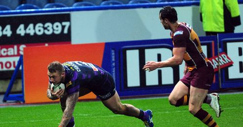 JOSH CHARNLEY WIGAN WARRIORS